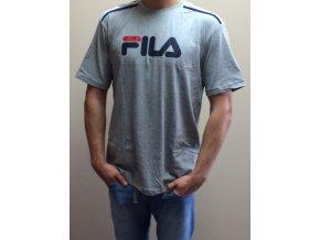Fila Pánske tričko s krátkym rukávom - sivé