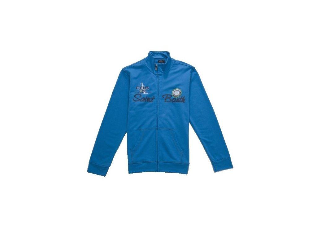 Chlapecká modrá mikina M2746 vel. 134