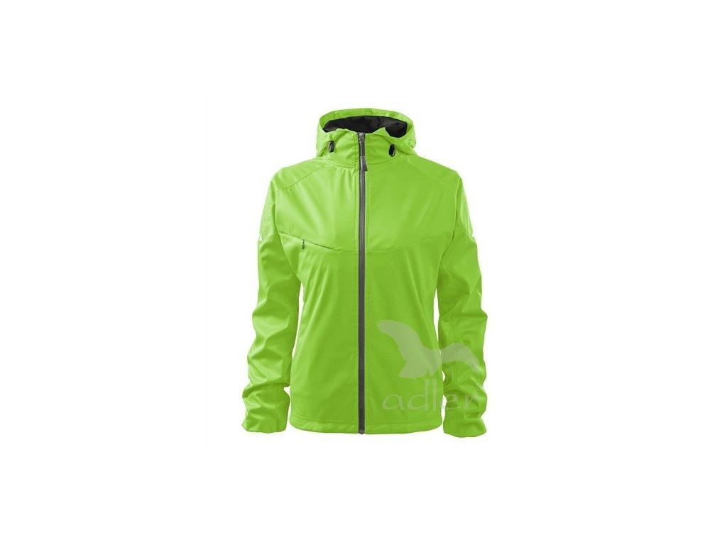 Adler Bunda dámská softshellová Cool 514 zelená