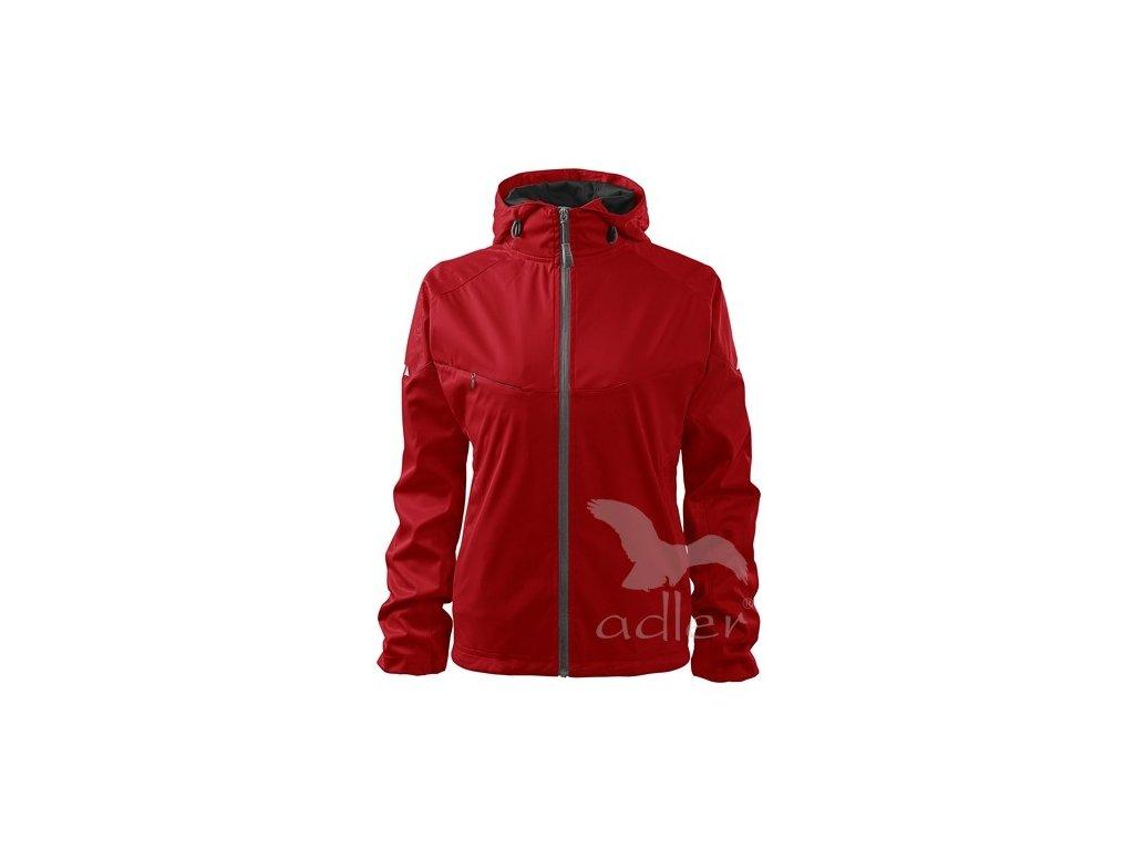 Adler Bunda dámská softshellová Cool 514 červená