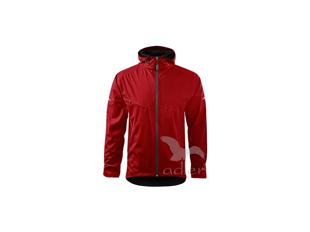 Adler Bunda pánská softshellová Cool 515 červená