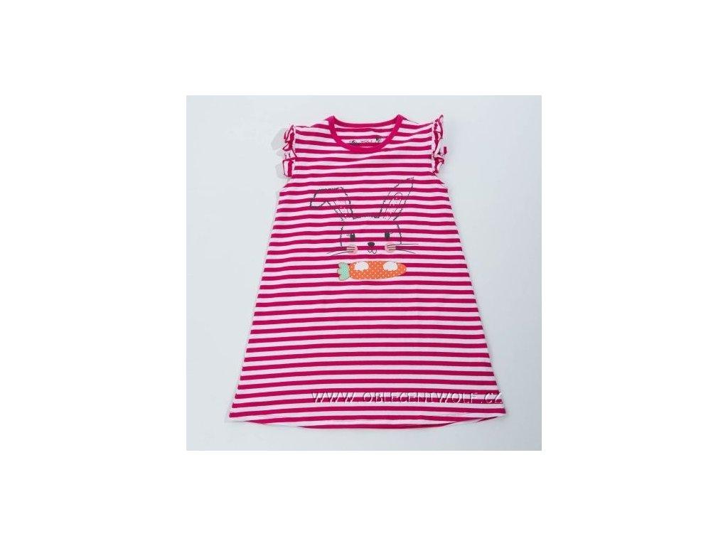 WOLF dívčí proužkované šaty 98-128