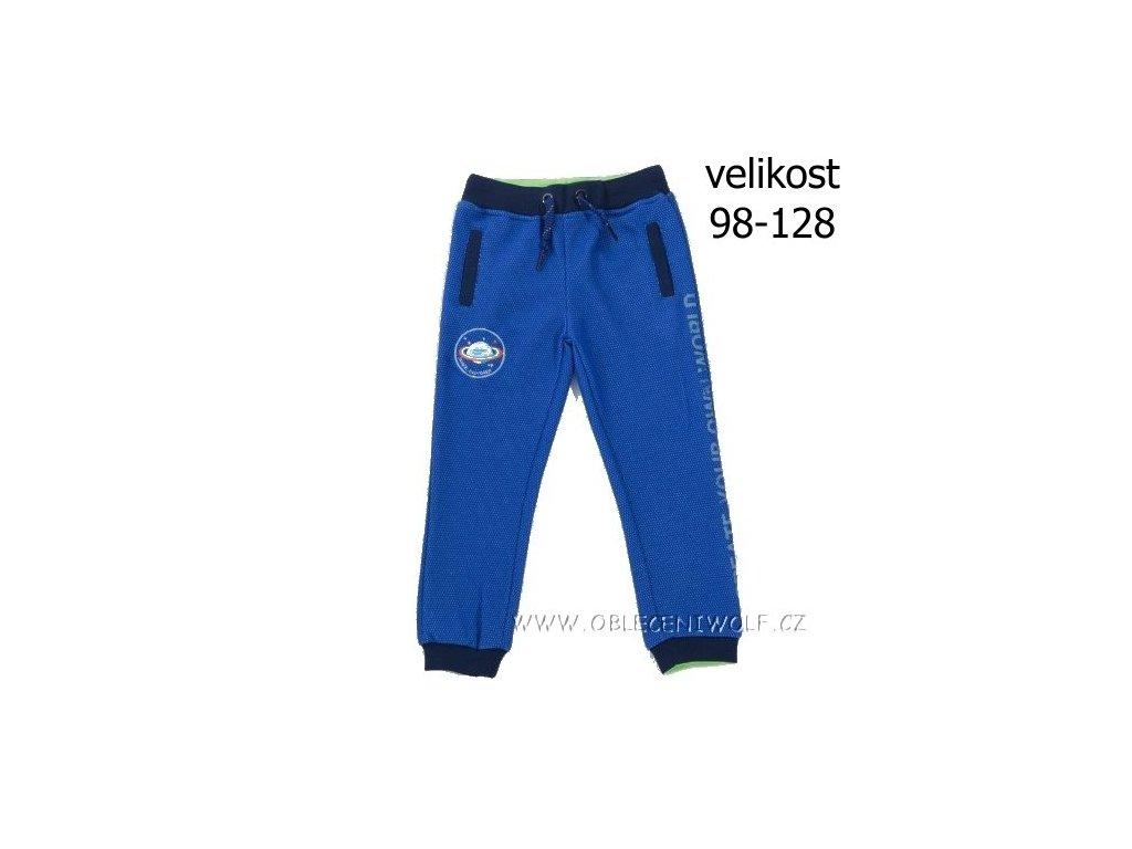 Chlapecké tepláky 98-128 modré T2881
