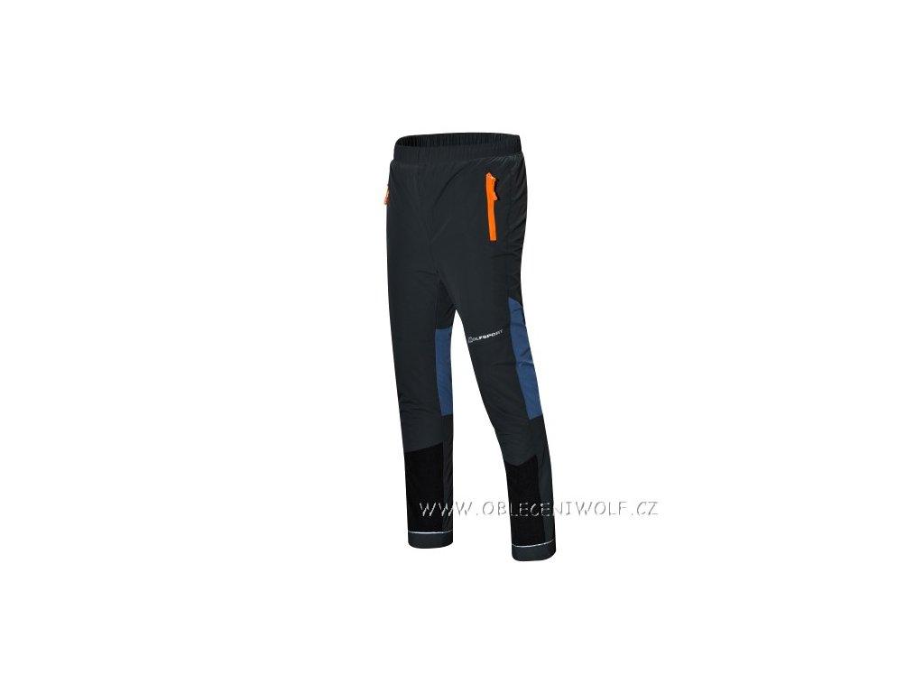 WOLF šusťákové kalhoty zateplené fleecem 134-158 šedé B2875