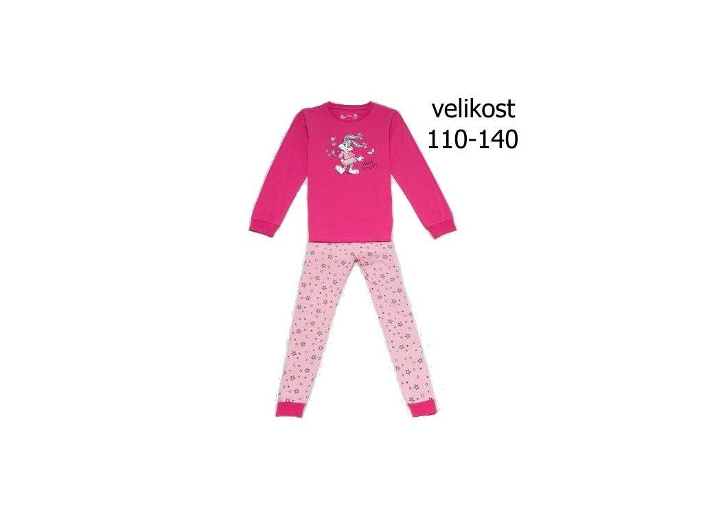 WOLF dívčí pyžamo růžové S2852C vel. 134