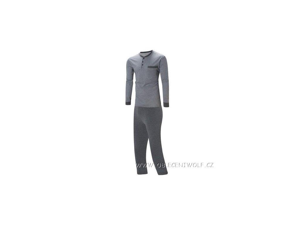WOLF Pánské pyžamo šedé S2877