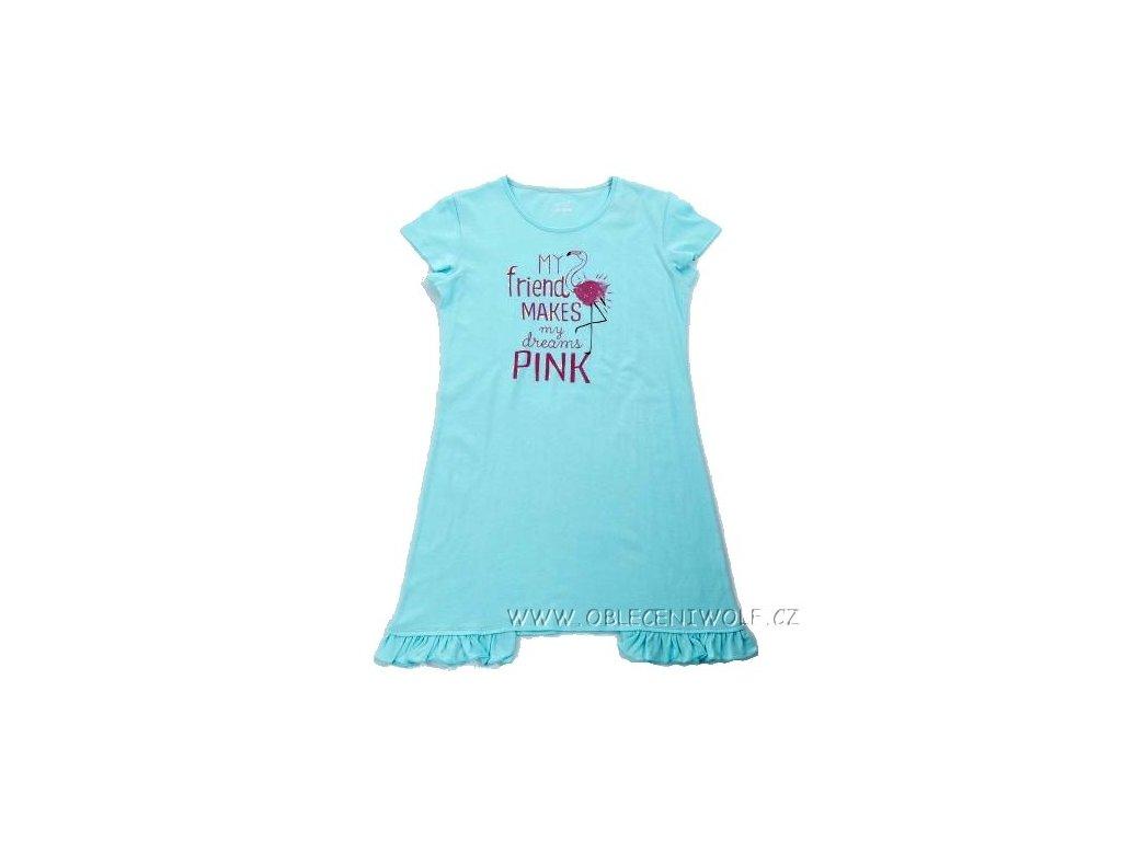 WOLF dívčí modrá noční košile S2882 vel. 134-164