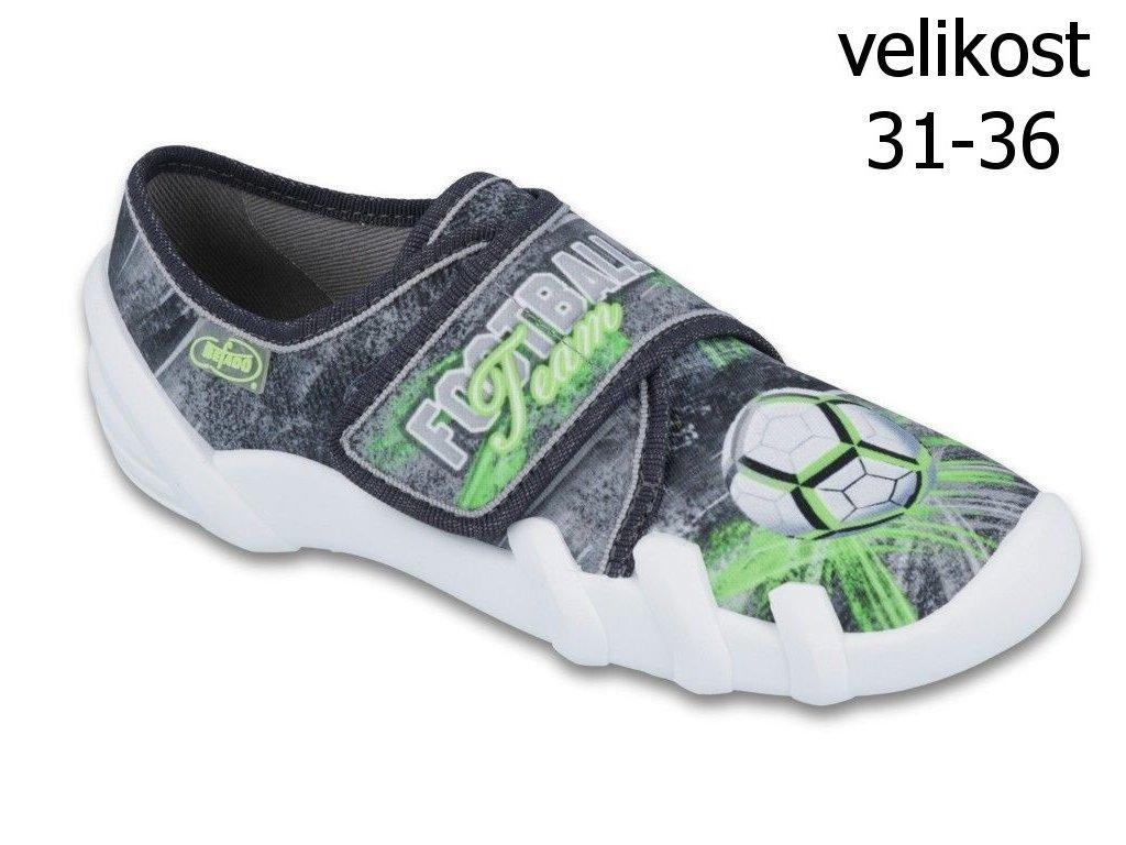 Bačkůrky Befado Skate 273Y254 vel. 31-36