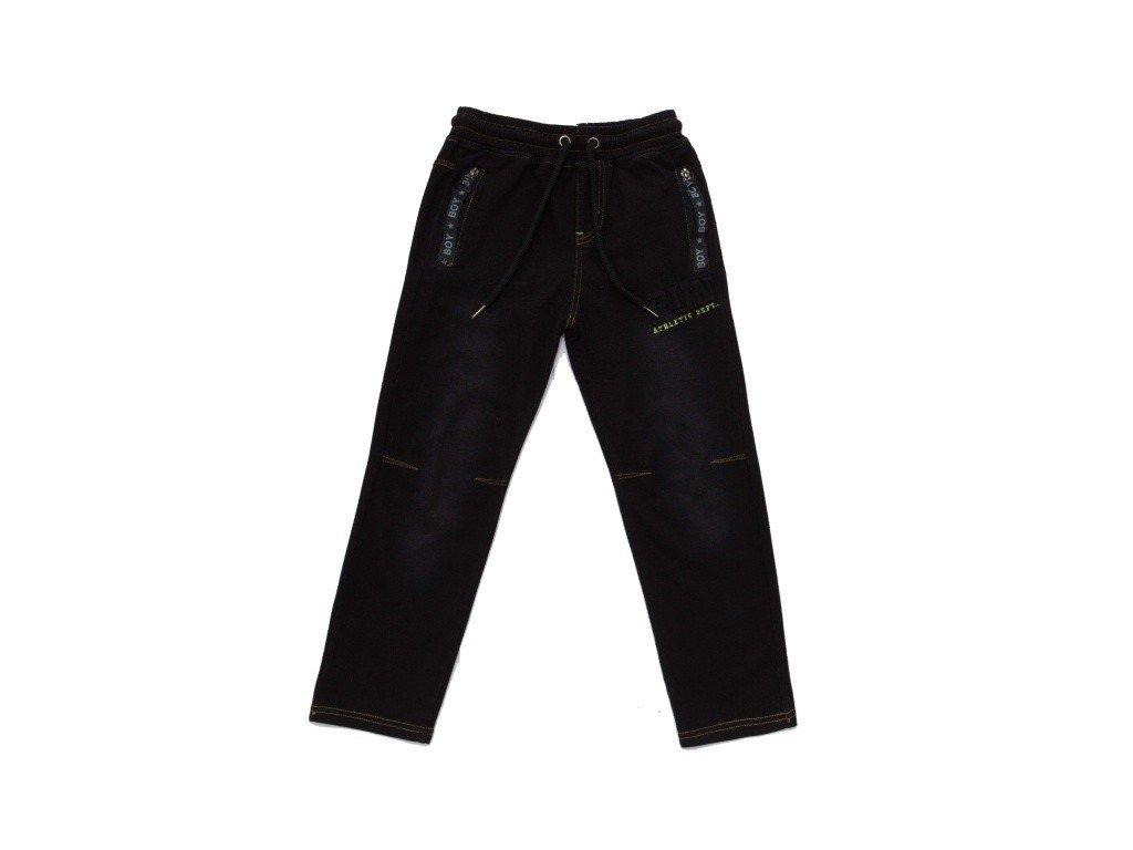 Chlapecké riflové kalhoty černé T2961 vel. 116-146