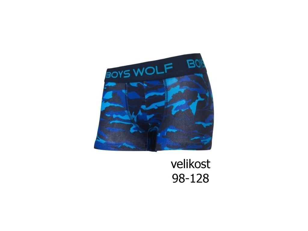 WOLF Chlapecké boxerky - 3 ks - L2981 vel. 98-128