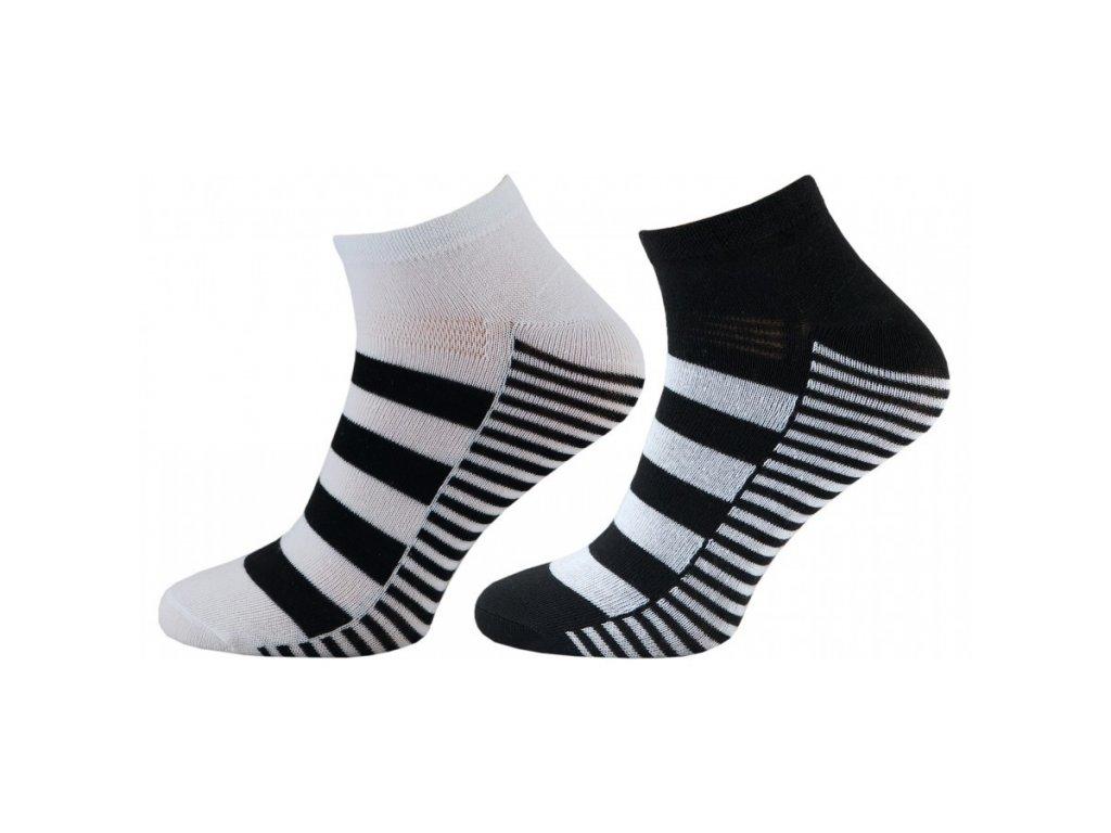 NOVIA dámské a pánské kotníkové ponožky 4 páry