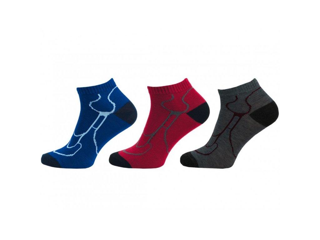 NOVIA dámské kotníkové ponožky 4 páry