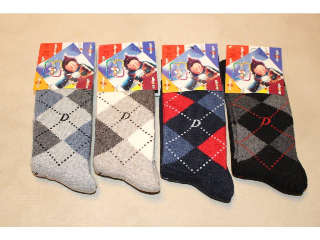 29-31 dětské froté ponožky Design Socks 7
