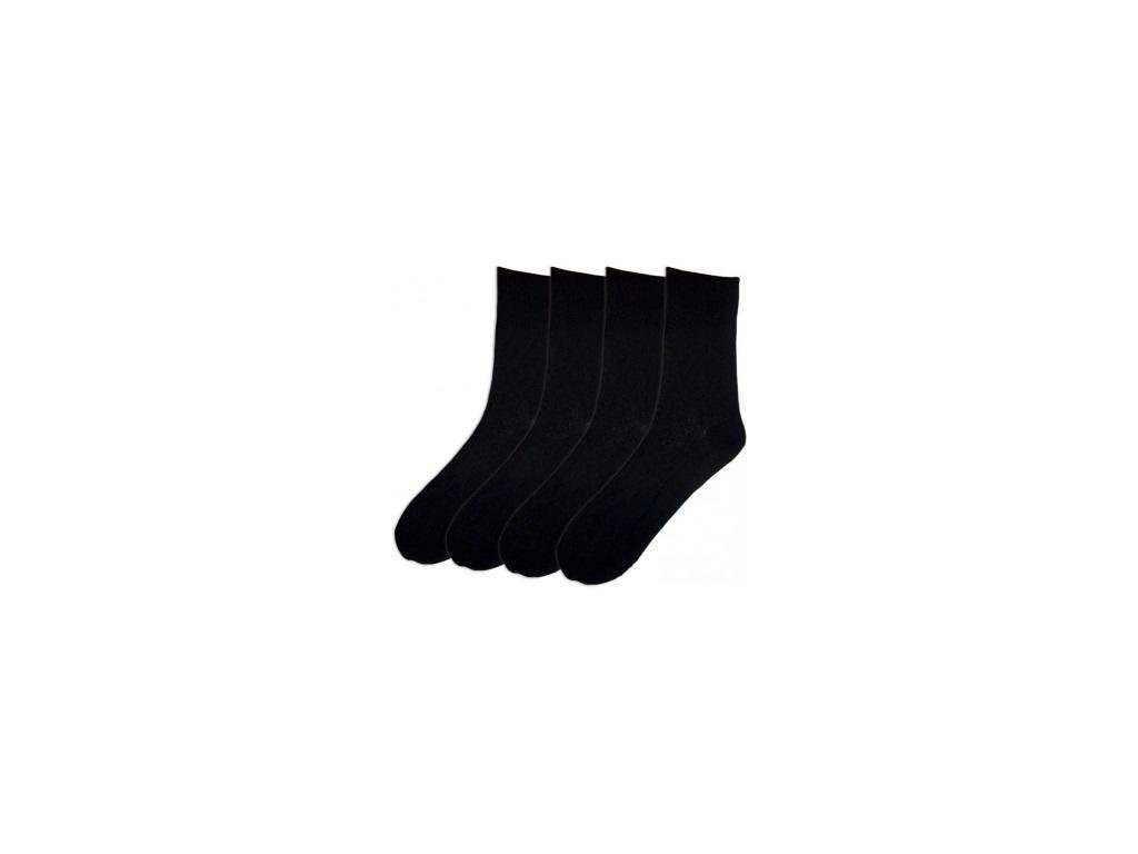 Dámské černé ponožky 1071 - 5 párů