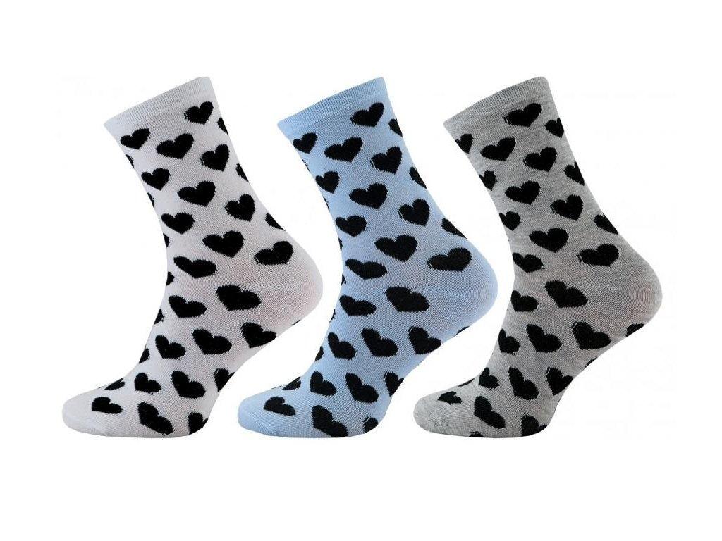 Dámské ponožky 1080 - 3 páry