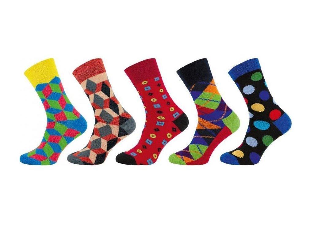Ponožky Happy Socks 1000 - 5 párů