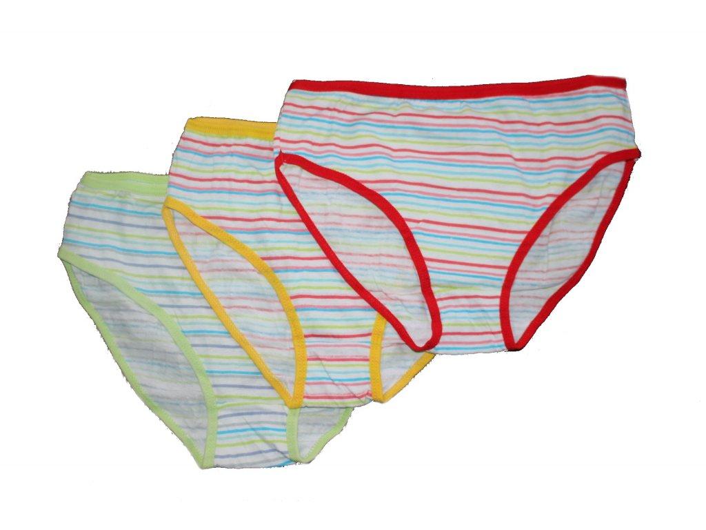 Dívčí kalhotky NK-28, 3 ks