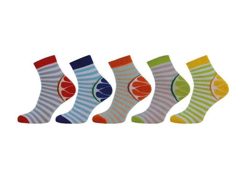 Ponožky se stříbrem Comfort 1024 - 5 párů