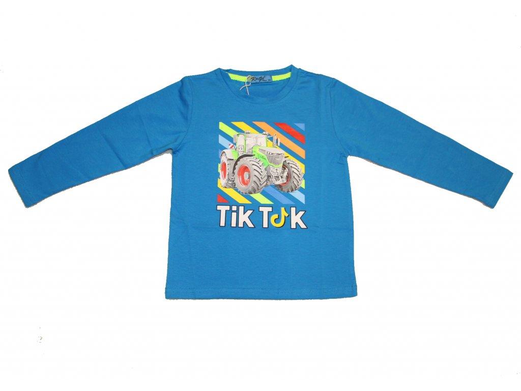 Chlapecké triko Tik Tok modré Kugo HC0601