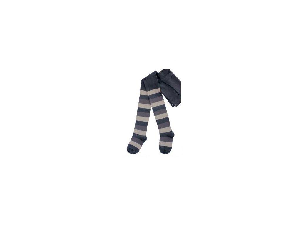 Dětské punčocháče šedý pruh