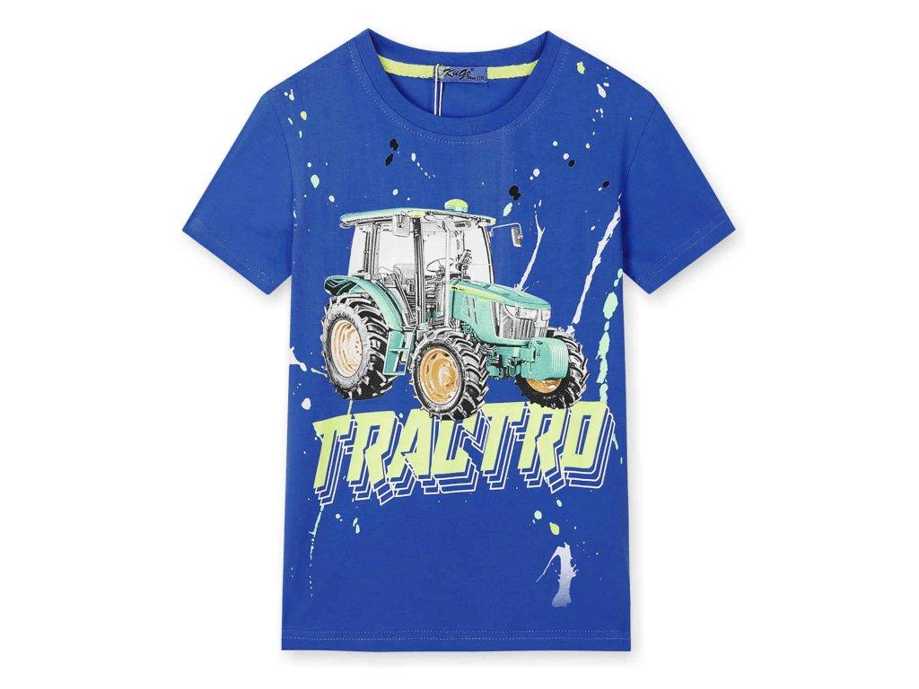 Chlapecké tričko modré HC0624