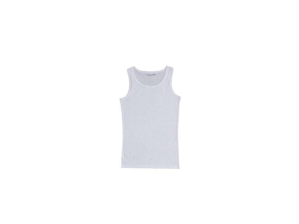 WOLF pánský bavlněný nátělník bílý S2675