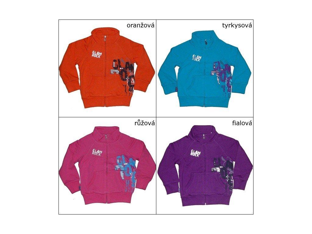 Dívčí bavlněná mikina WOLF 98-104-110-116-122-128