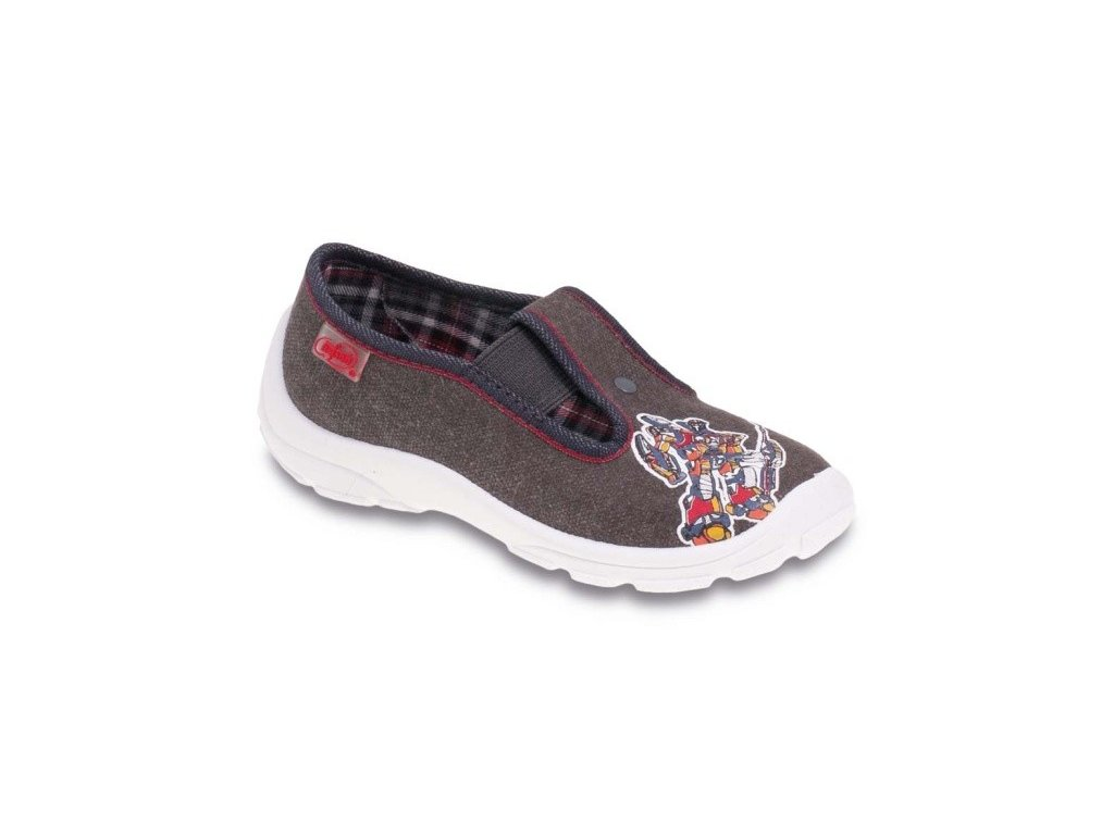 Chlapecké certifikované tenisky/papučky/bačkůrky BEFADO 975X134