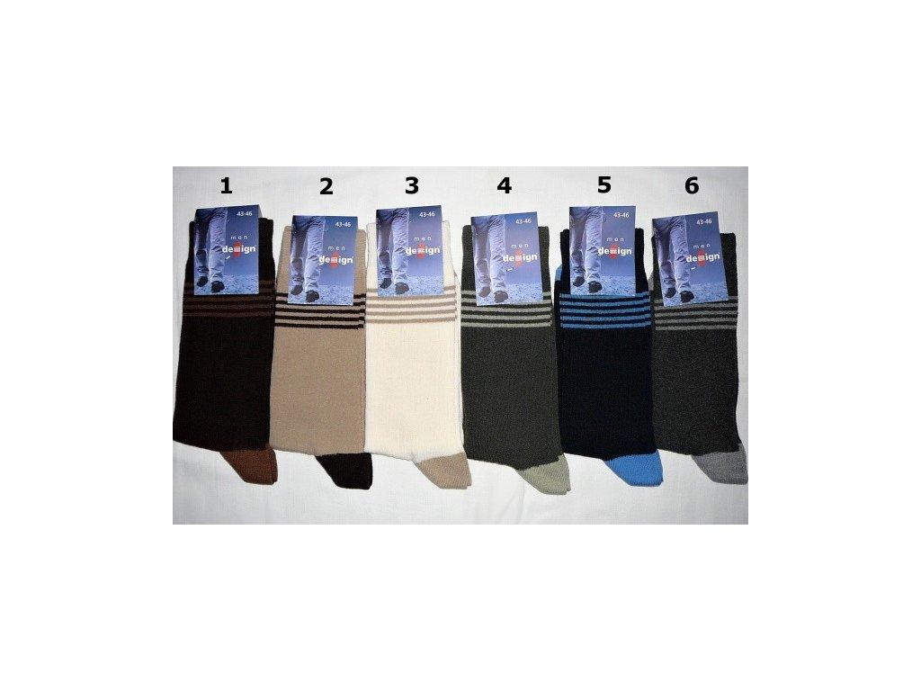 Pánské ponožky vel. 43-46