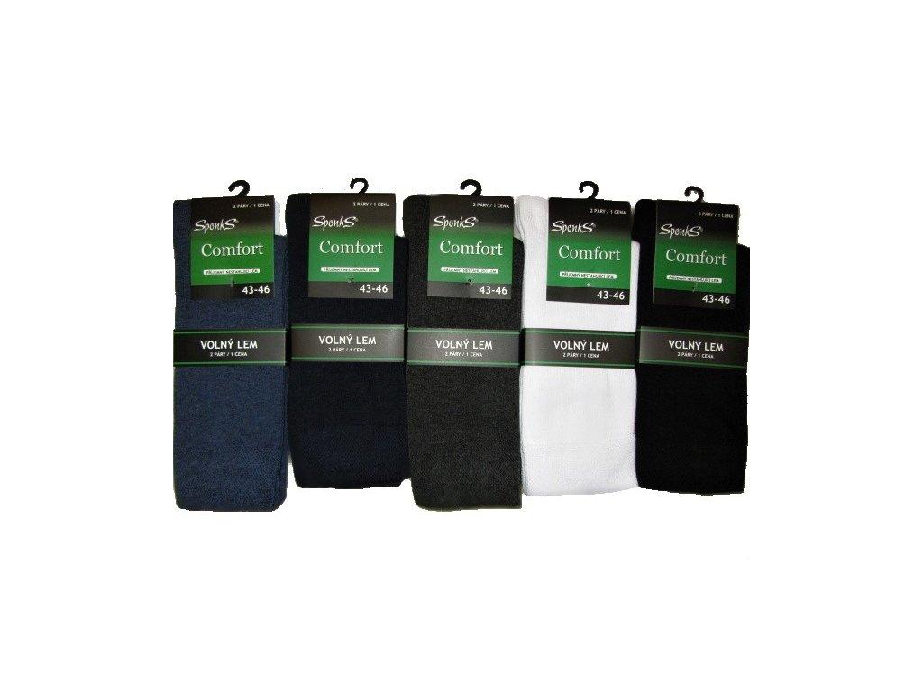 Pánské zdravotní ponožky vel. 39-42