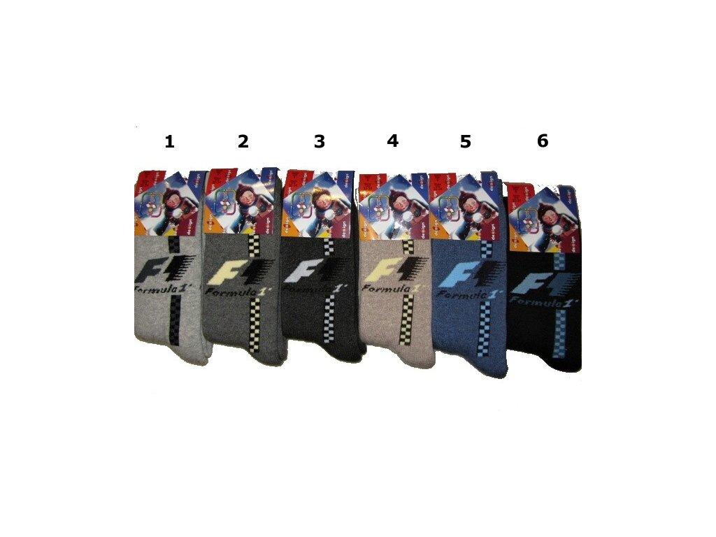 Dětské ponožky F1 vel. 35-37
