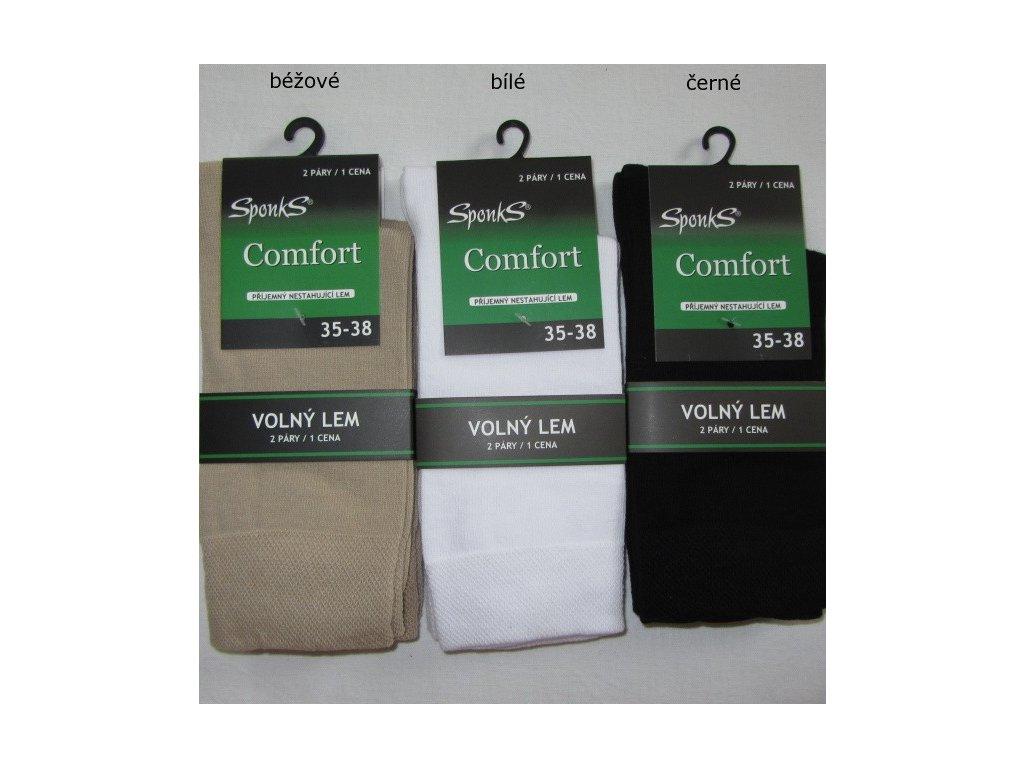Dámské zdravotní ponožky vel. 35-38