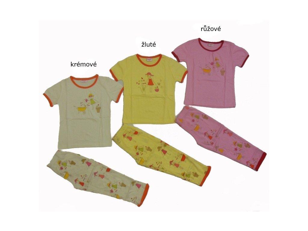 Dívčí letní pyžamo S2364 Wolf
