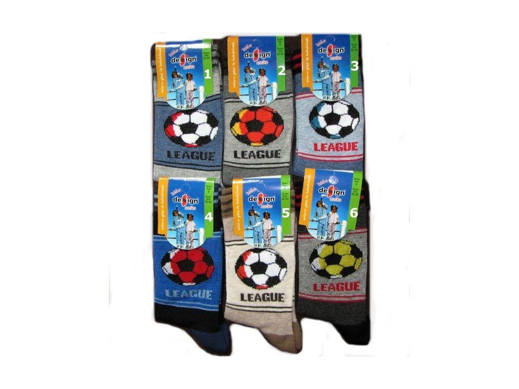 20-22 dětské ponožky Design Socks 1
