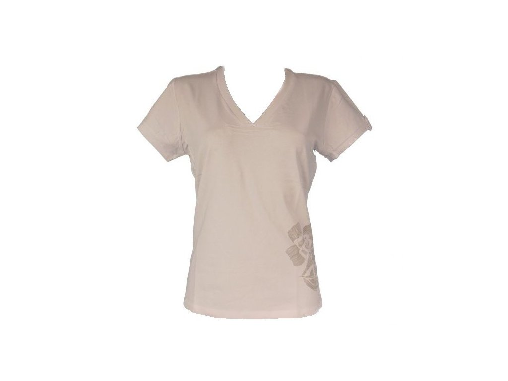 Dámské triko s krátkým rukávem bílé