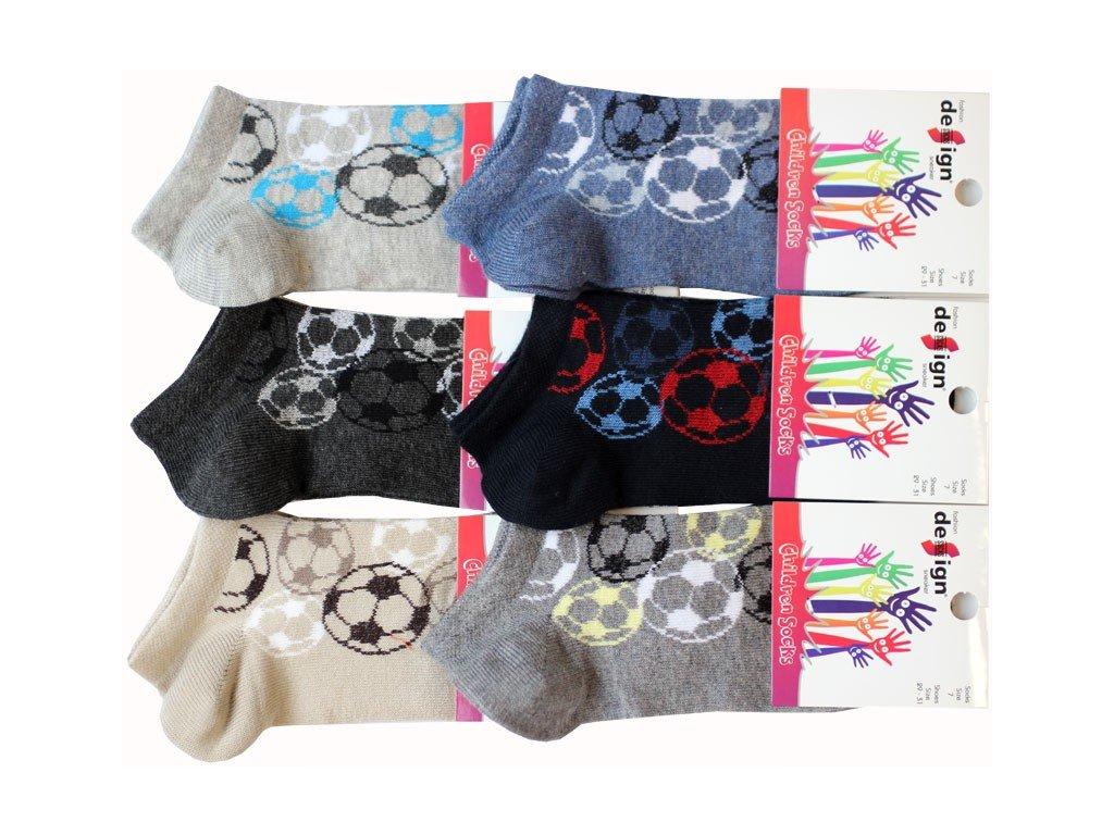 29-31 dětské kotníkové ponožky Design Socks 7