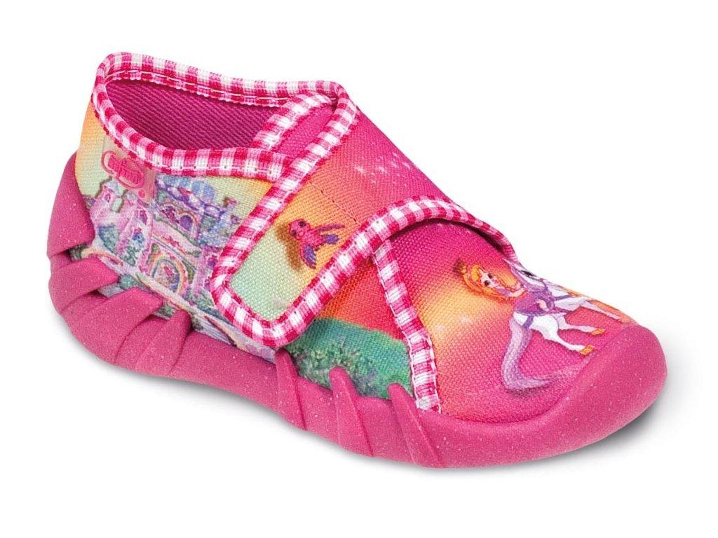 Dívčí certifikované tenisky/papučky/bačkůrky BEFADO 112P046