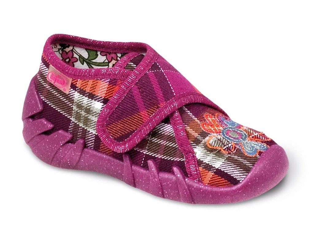 Dívčí certifikované tenisky/papučky/bačkůrky BEFADO 112P054