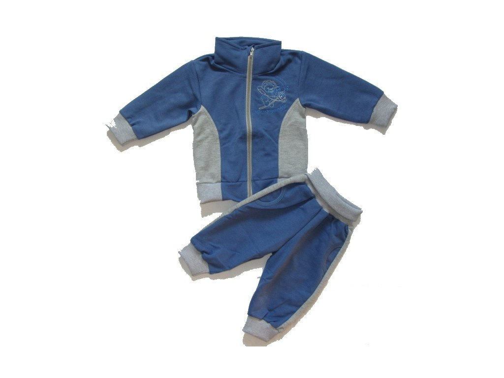 Chlapecká tepláková souprava CZ 74-80-86-92-98