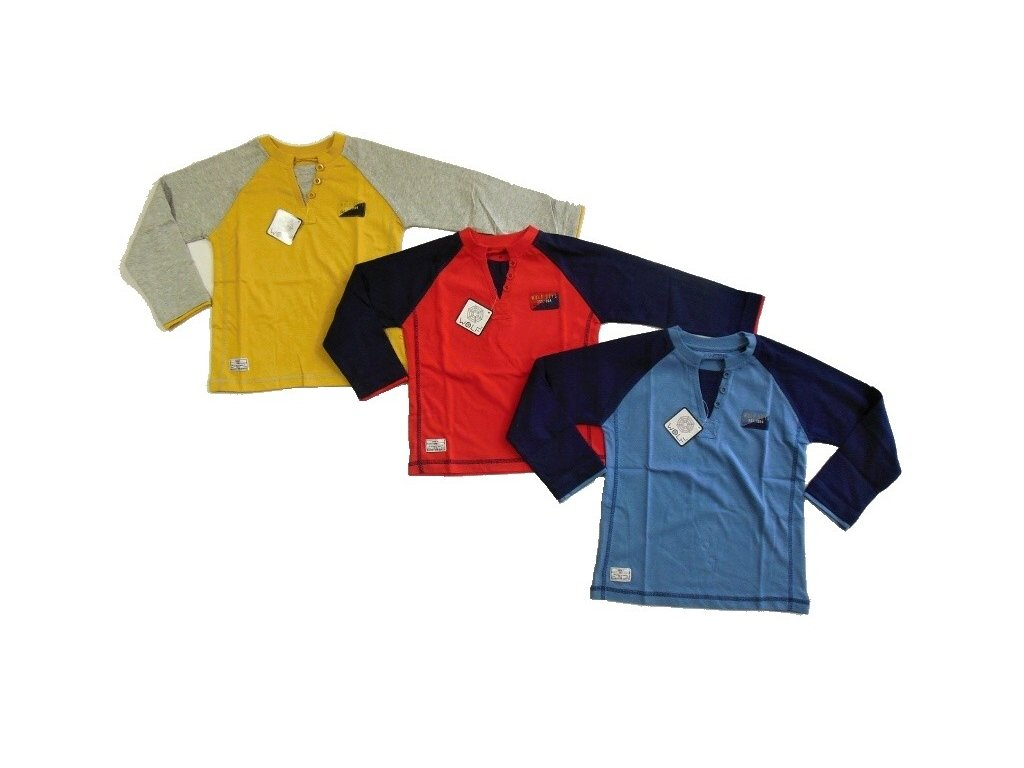 Chlapecké triko s dlouhým rukávem S2332 WOLF 98