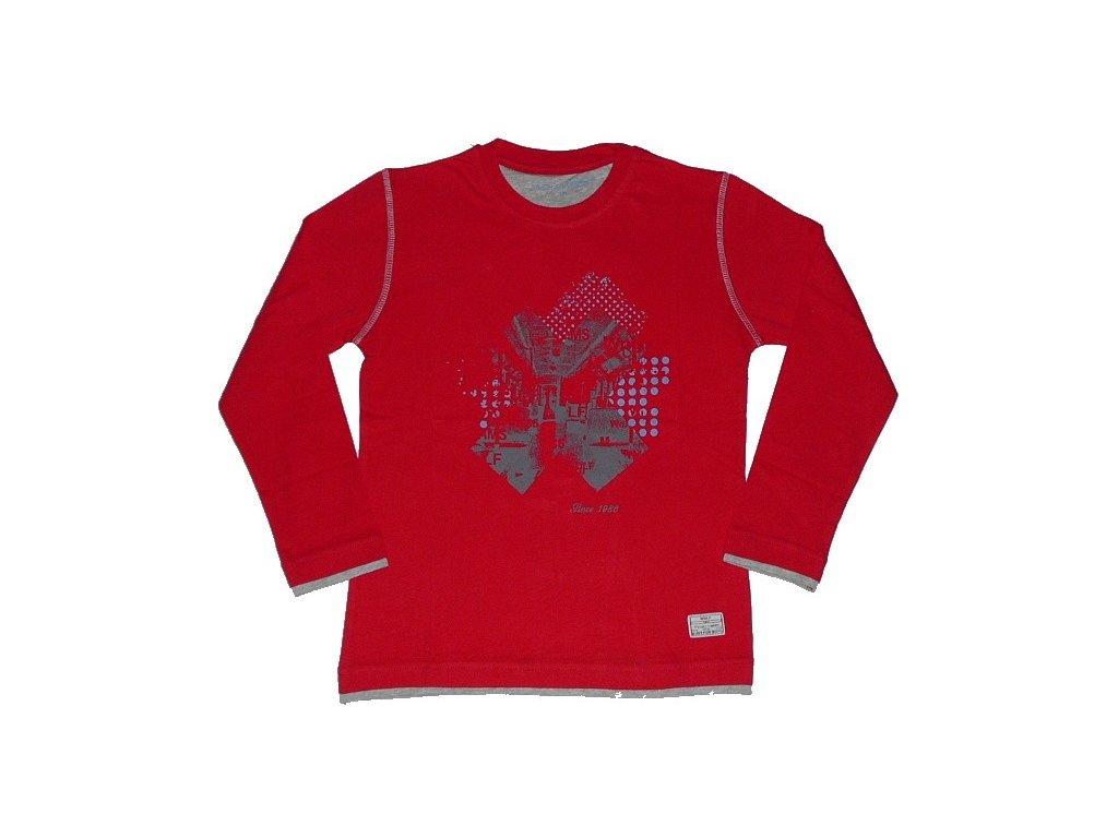 Chlapecké triko s dlouhým rukávem WOLF vel. 164