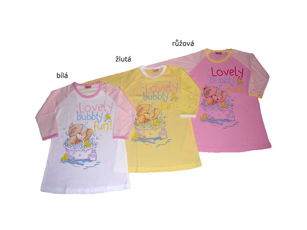 Dívčí noční košile S2358 Wolf 92-98-104-110-116-122-128