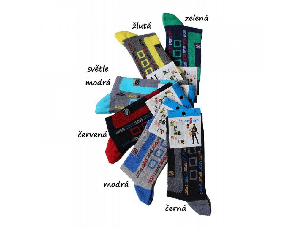 32-34 dětské ponožky Design Socks 9