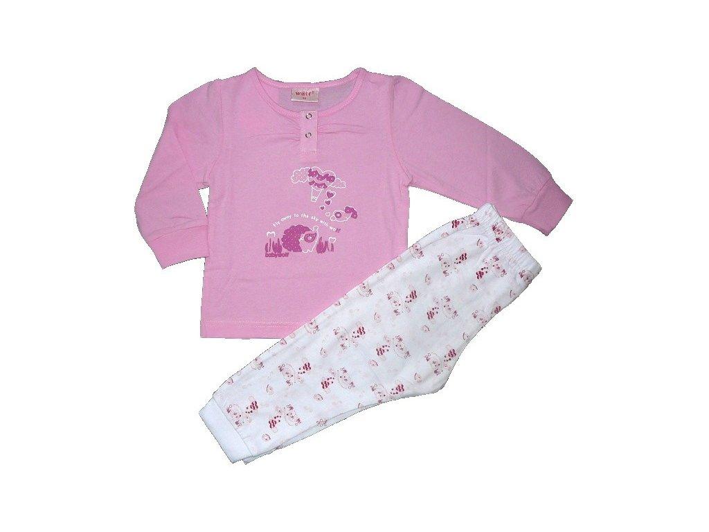 Dívčí pyžamo WOLF S2353B vel. 74