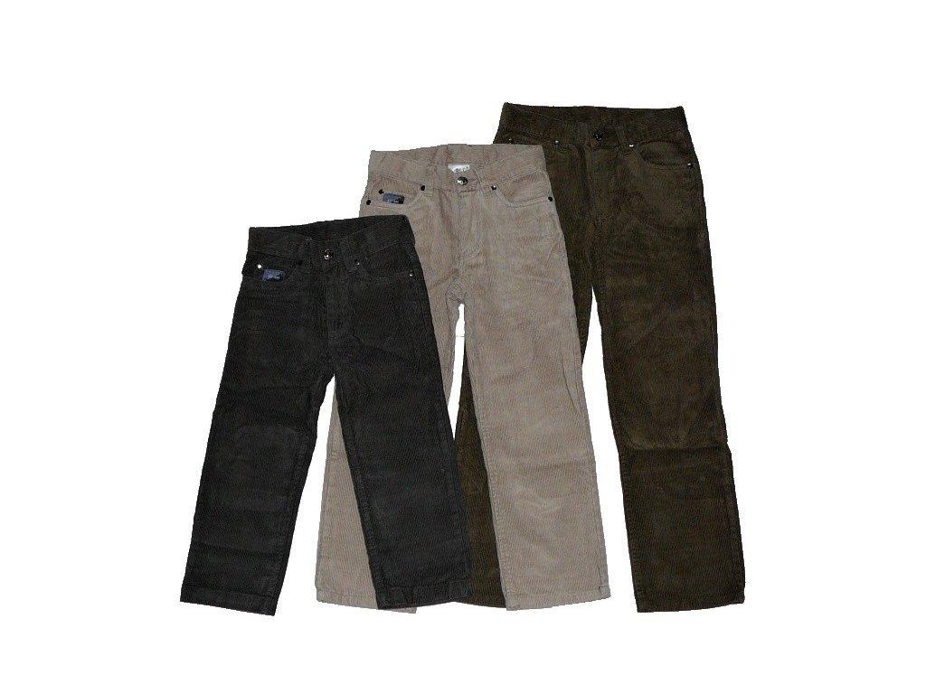 Chlapecké manžestrové kalhoty T2353 98-104-110-116-122-128-134