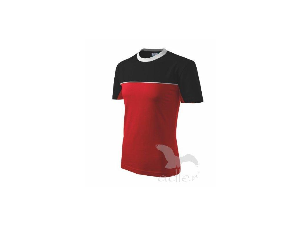 109 Tričko Colormix 200 červené