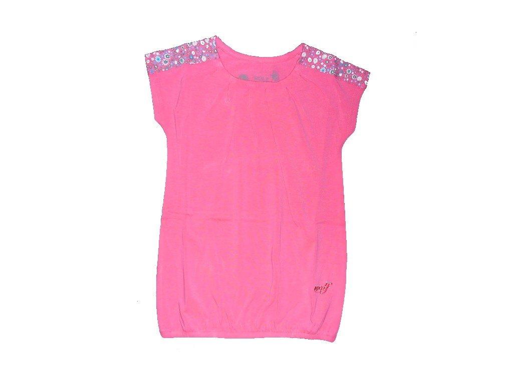 Dívčí lososové triko S2318 WOLF vel. 92, 98, 110