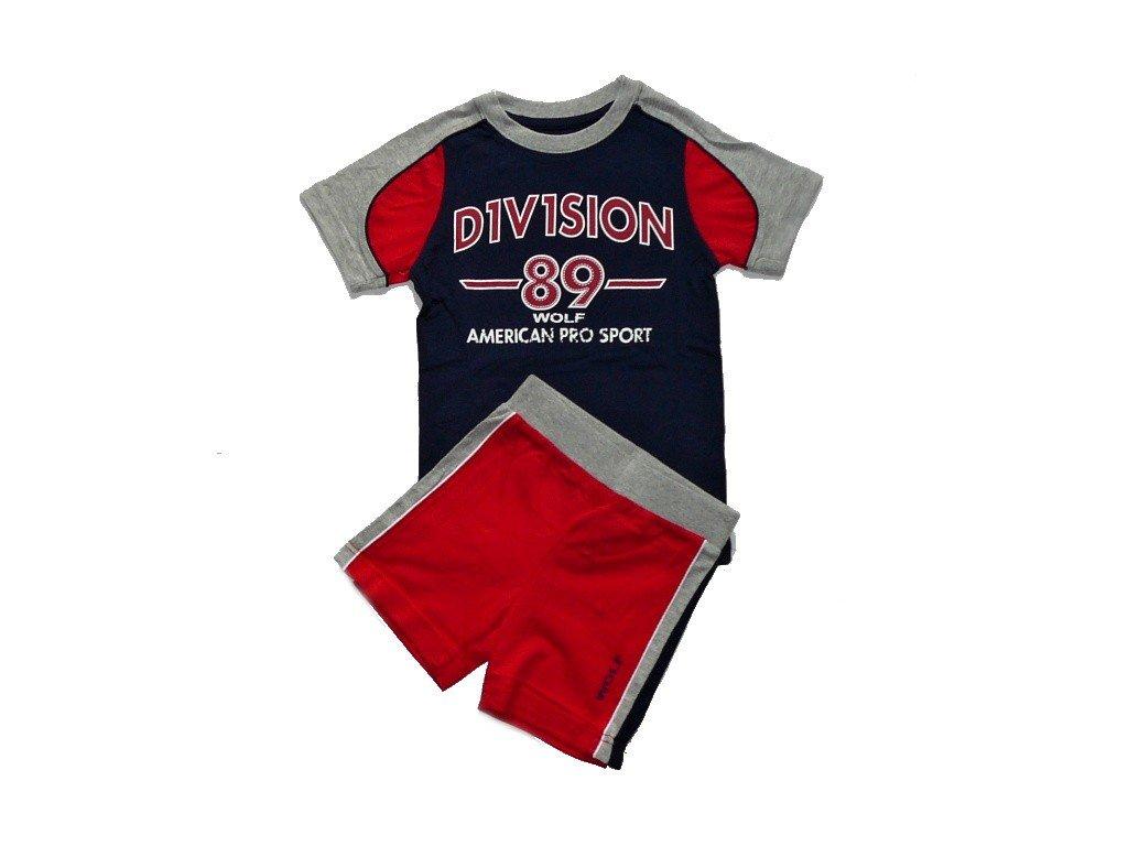 Chlapecký letní komplet/letní pyžamo S2408m WOLF 98-104-110-116-122-128