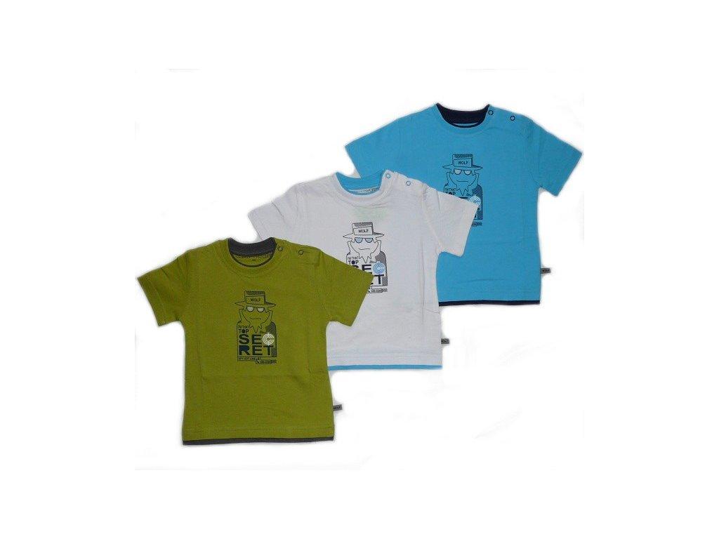 Chlapecké triko 80-86-92-98 WOLF S2309