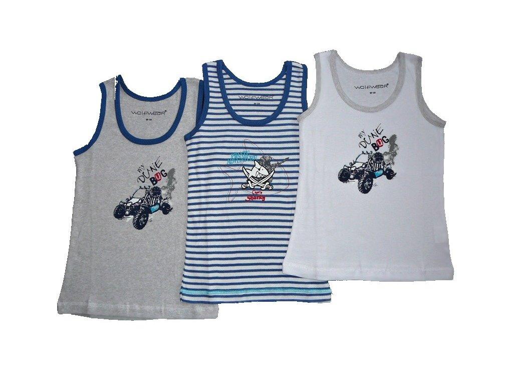 Chlapecké spodní tílko S2462 Wolf 86-92-98-104-110-116-122-128